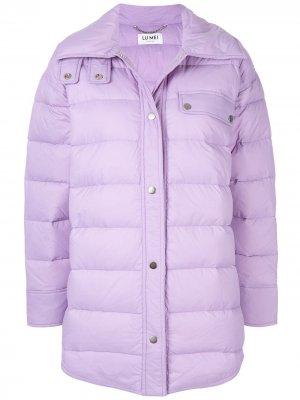 Куртка-рубашка Herne Hill LU MEI. Цвет: фиолетовый