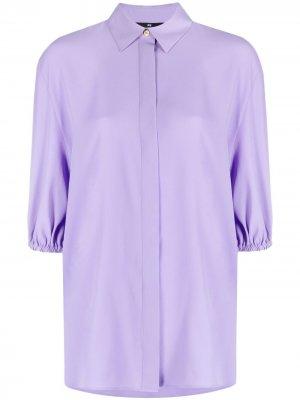 Рубашка с пышными рукавами PS Paul Smith. Цвет: фиолетовый