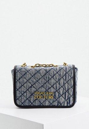 Сумка Versace Jeans Couture. Цвет: синий