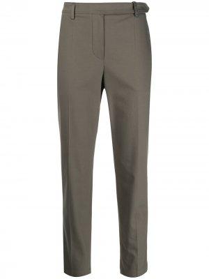 Укороченные прямые брюки чинос Brunello Cucinelli. Цвет: зеленый
