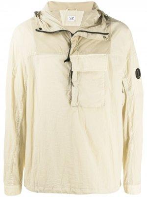 Анорак с накладным карманом C.P. Company. Цвет: нейтральные цвета