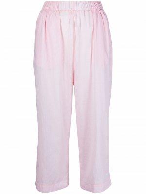 Укороченные брюки Forte. Цвет: розовый