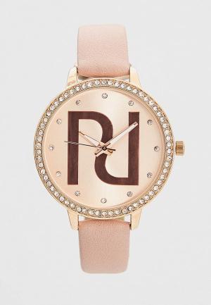 Часы River Island. Цвет: розовый