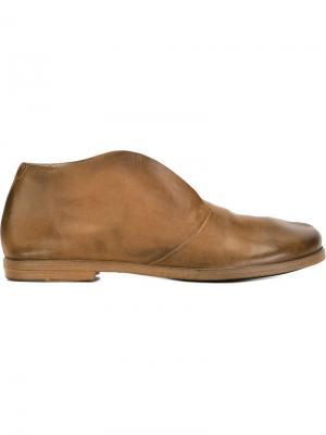 Ботинки-дезерты Listello Marsèll. Цвет: коричневый