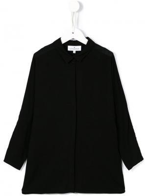 Классическая рубашка Little Remix. Цвет: черный