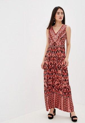 Платье Wallis. Цвет: коралловый