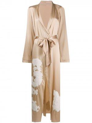 Длинный халат Primrose Hill Myla. Цвет: нейтральные цвета