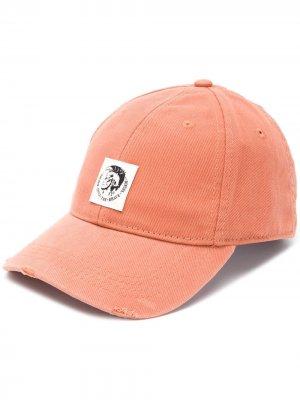 Кепка Condi-Max с логотипом Diesel. Цвет: оранжевый