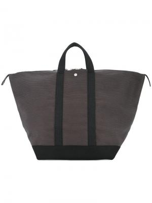 Большая сумка Bowler Cabas. Цвет: серый