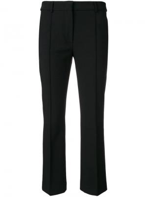 Cropped tailored trousers Sportmax. Цвет: черный