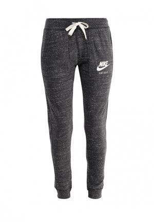 Брюки спортивные Nike. Цвет: серый