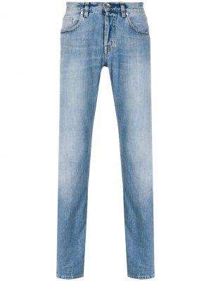 Прямые джинсы Eleventy. Цвет: синий