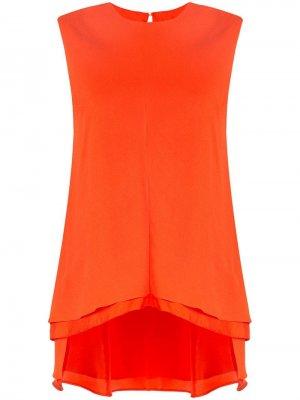 Ярусная блузка Sies Marjan. Цвет: оранжевый