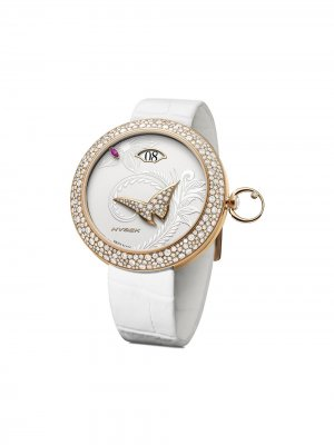 Наручные часы Kalysta Exotic Tale 39 мм Jorg Hysek. Цвет: белый