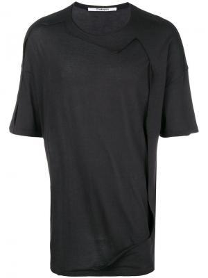 Framed T-shirt Chalayan. Цвет: черный
