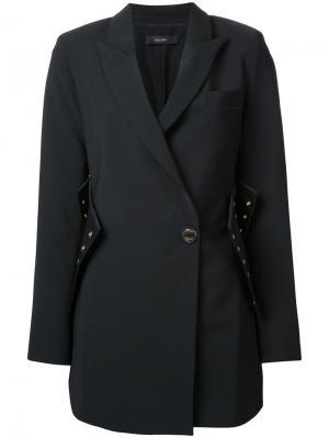 Пальто корсетного кроя Ellery. Цвет: черный