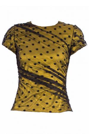 Блуза Alter Ego. Цвет: желтый