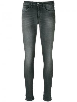 Облегающие джинсы Won Hundred. Цвет: черный