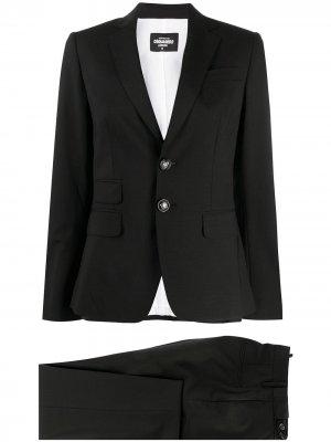 Брючный костюм Dsquared2. Цвет: черный