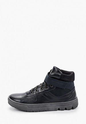 Ботинки Лель. Цвет: черный