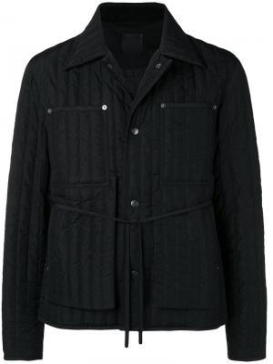 Утепленная куртка Craig Green. Цвет: черный