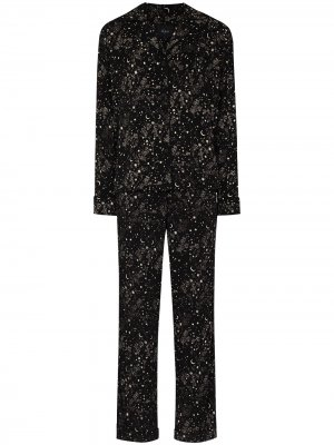 Пижама Clara Night Star Rails. Цвет: черный
