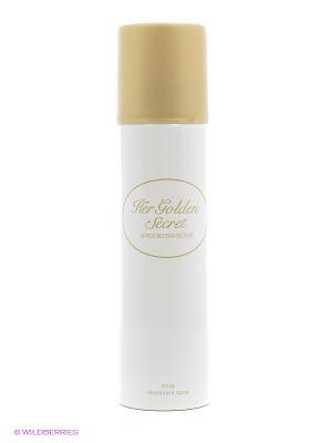 Дезодорант спрей  Her Golden Secret ANTONIO BANDERAS. Цвет: прозрачный