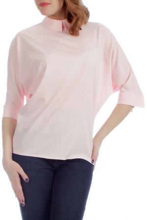 Блузка Lamiavita. Цвет: розовый