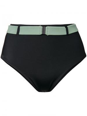Низ бикини  Josephine Solid & Striped. Цвет: черный