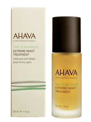 Крем ночной для упругости кожи AHAVA. Цвет: прозрачный