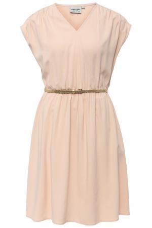 Платье Finn Flare. Цвет: молочный