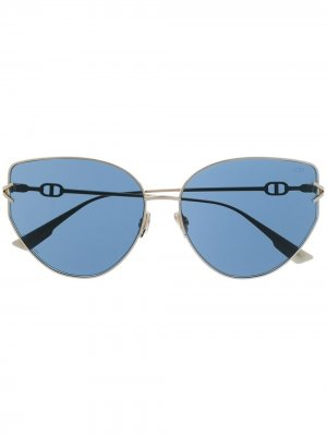 Солнцезащитные очки Dior Gipsy1 Eyewear. Цвет: золотистый