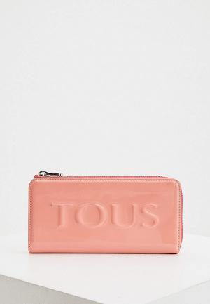 Кошелек Tous. Цвет: розовый