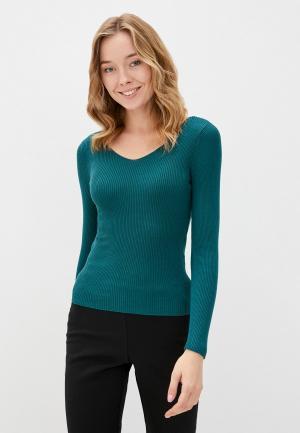Пуловер Jacqueline de Yong. Цвет: бирюзовый