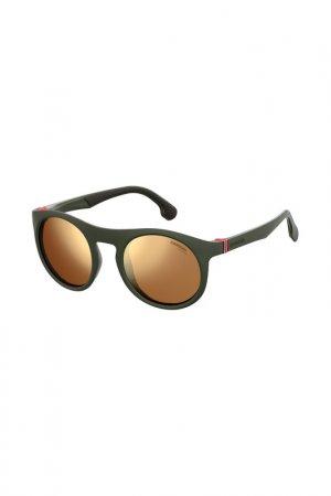 Очки cолнцезащитные Carrera. Цвет: зеленый