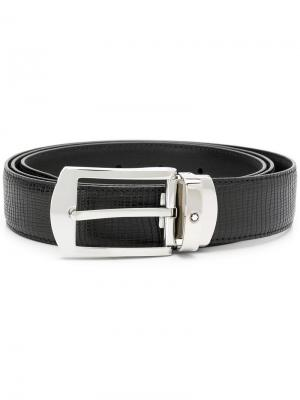 Classic belt Montblanc. Цвет: черный