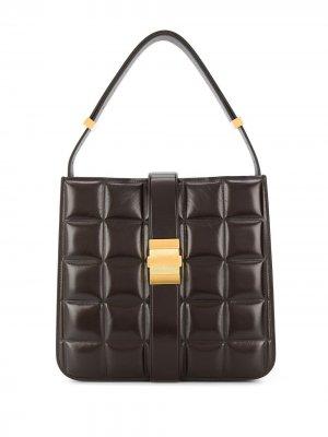 Сумка на плечо Marie Bottega Veneta. Цвет: коричневый