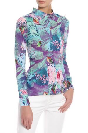 Блузка Olenny. Цвет: фиолетовый
