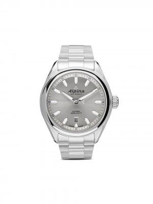 Наручные часы Alpiner Quartz 42 мм Alpina. Цвет: белый