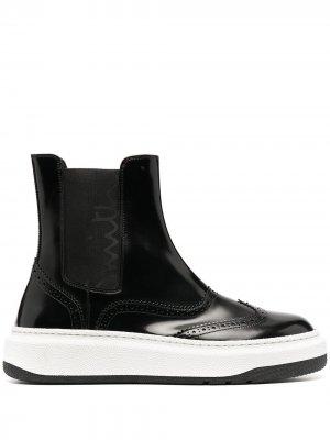 Лакированные ботинки оксфорды Paul Smith. Цвет: черный