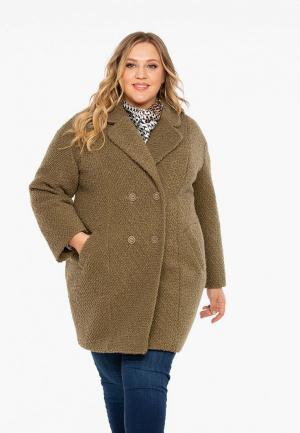 Пальто Intikoma. Цвет: коричневый