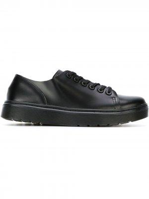 Туфли на шнуровке Dante Dr. Martens. Цвет: черный