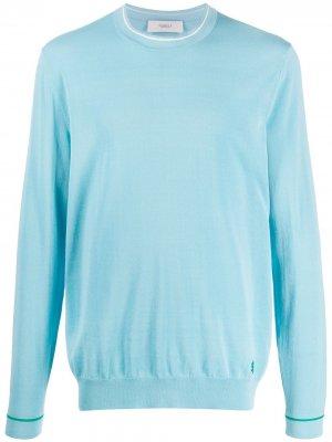 Пуловер с круглым вырезом Pringle of Scotland. Цвет: синий
