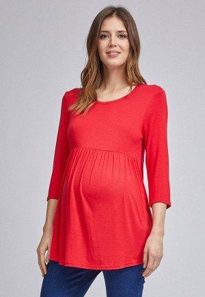 Лонгслив Dorothy Perkins Maternity. Цвет: красный