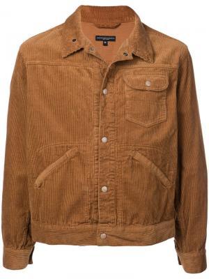 Вельветовая куртка Type 111 Engineered Garments. Цвет: коричневый