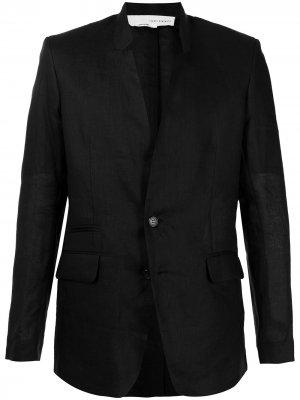 Однобортный пиджак Isabel Benenato. Цвет: черный