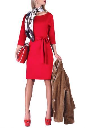 Платье FABIEN DE FERANTE. Цвет: красный