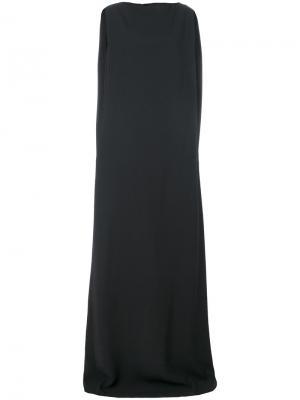 Длинное платье-колонна Chalayan. Цвет: серый