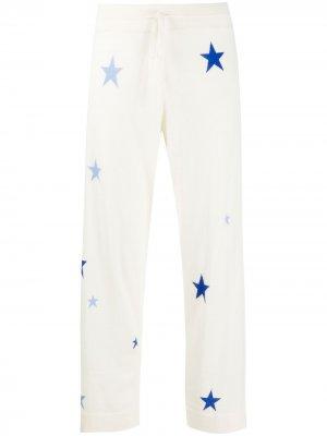 Укороченные кашемировые брюки Chinti and Parker. Цвет: нейтральные цвета