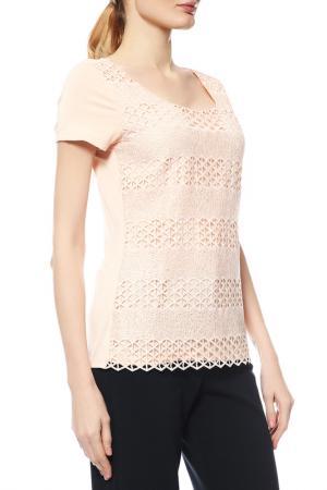 Блуза Comma. Цвет: персиковый